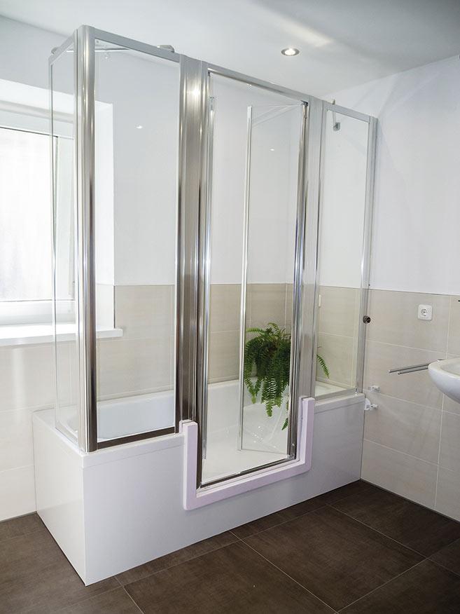 badewanne oder dusche in mietwohnung innenr ume und. Black Bedroom Furniture Sets. Home Design Ideas